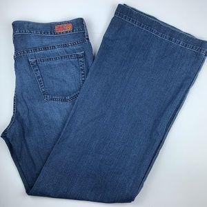 AG Adriano Goldschmied wide leg jeans, size 32R